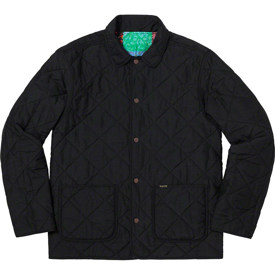 Reversible Patchwork Quilted Jacket - Quilted silk blend with fill 6b15601f3