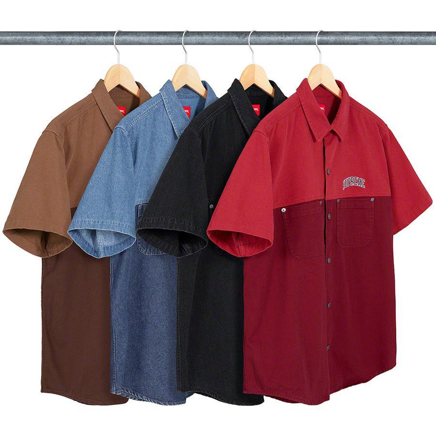 7211847efd47 Details Supreme 2-Tone Denim S/S Shirt - Supreme Community