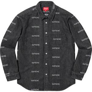 aa06093fd74a Details Supreme Logo Denim Shirt - Supreme Community