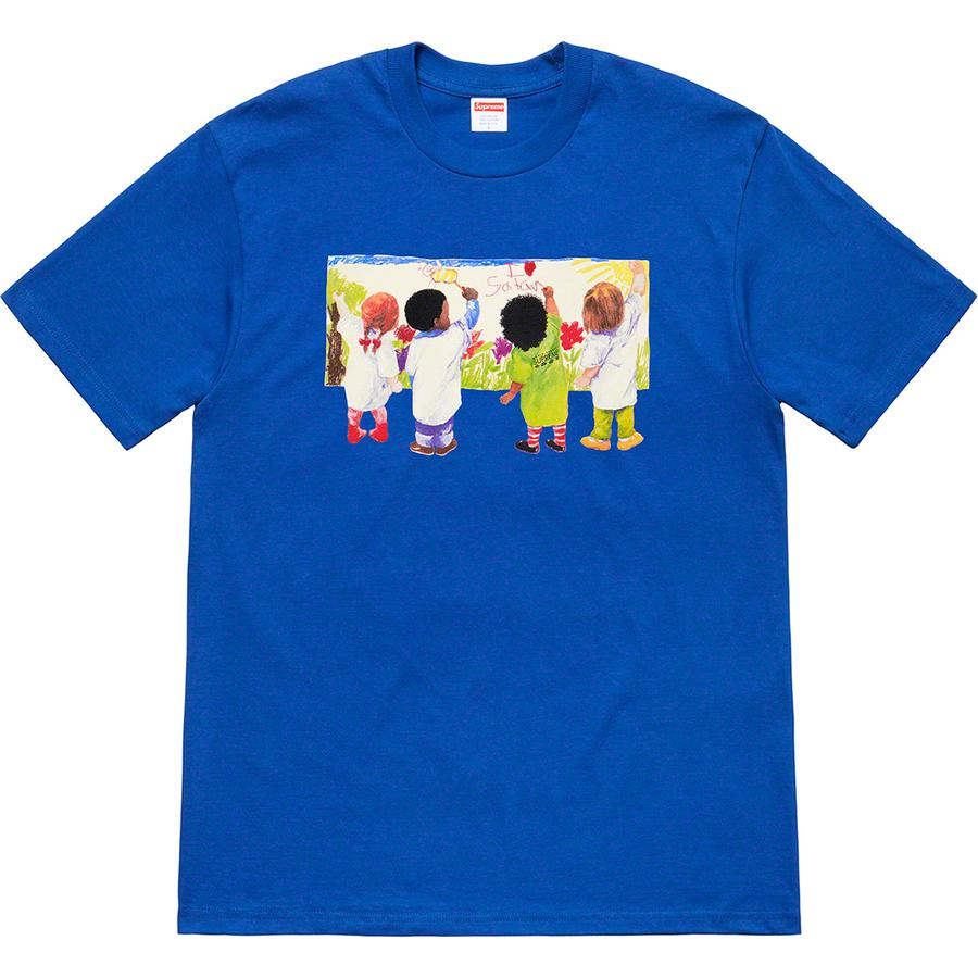 Kids Tee - All cotton classic Supreme t-shirt with printed graphic on front.