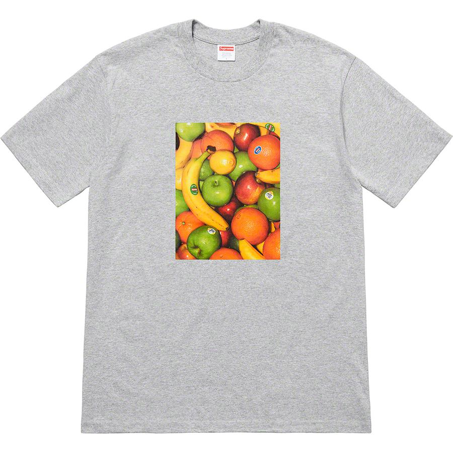 Fruit Tee - All cotton classic Supreme t-shirt with printed graphic on front and back.
