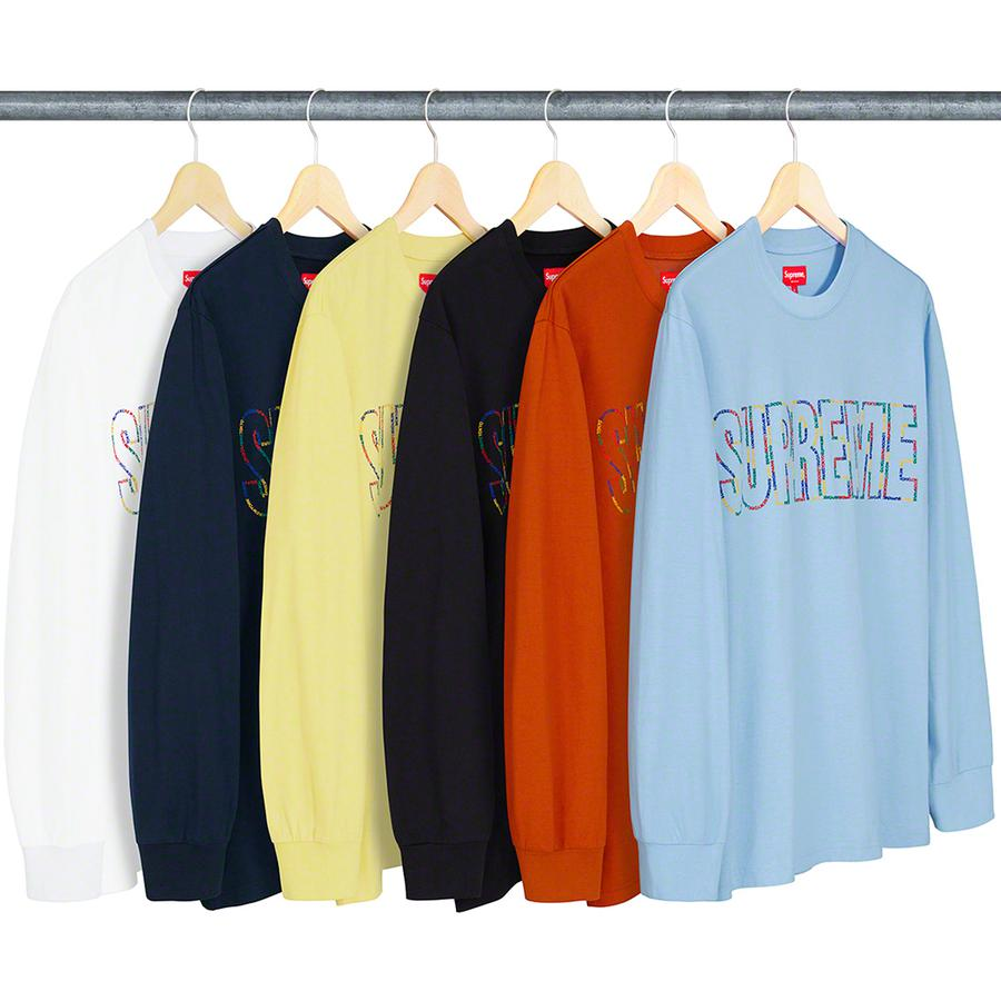 International L/S Tee - All cotton jersey crewneck with embroidered logo on chest.