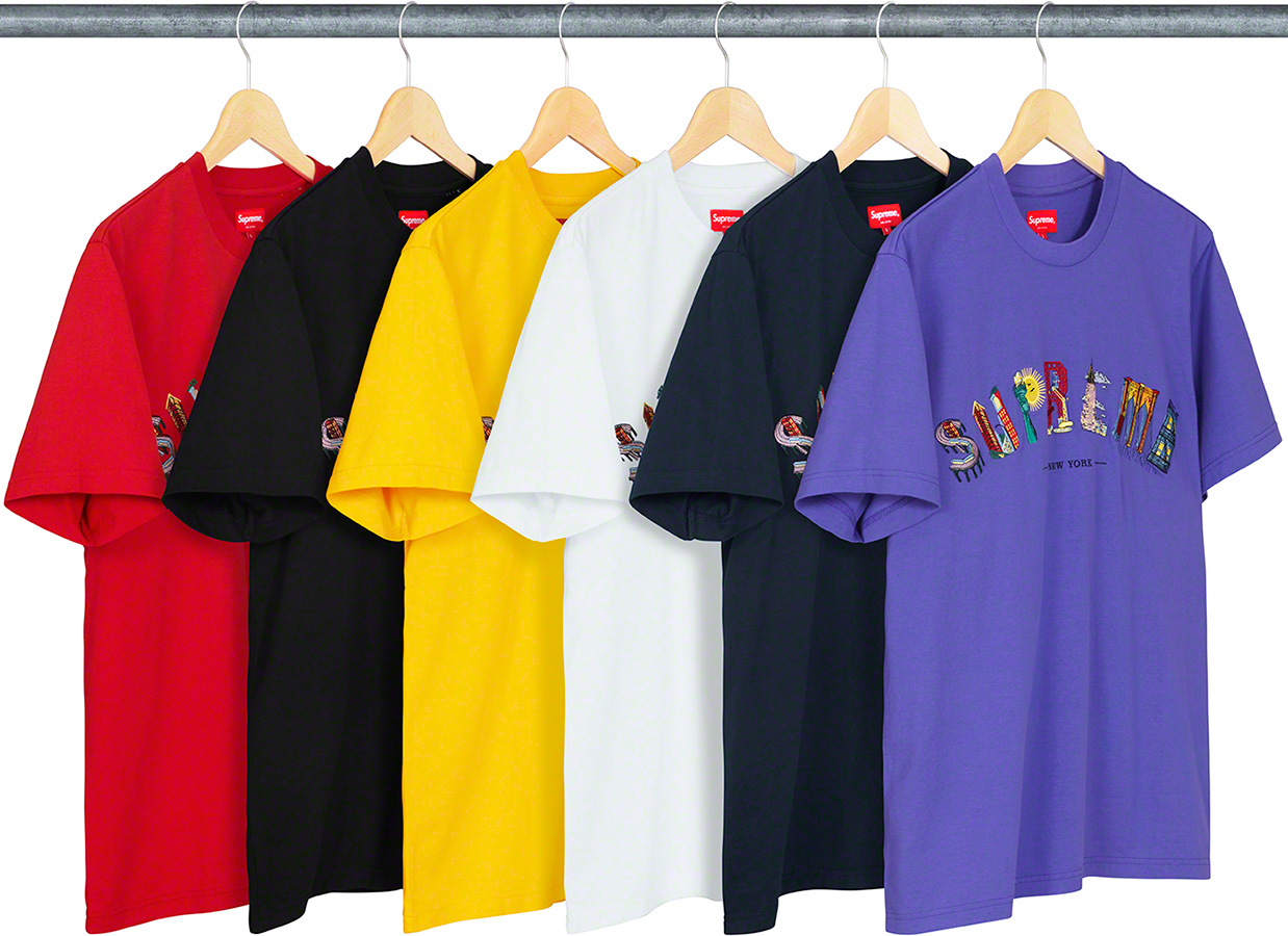 Details Supreme City Arc Tee - Supreme Community